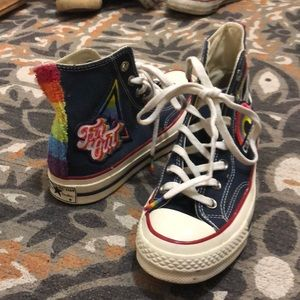 Limited edition Converse Pride high tops!